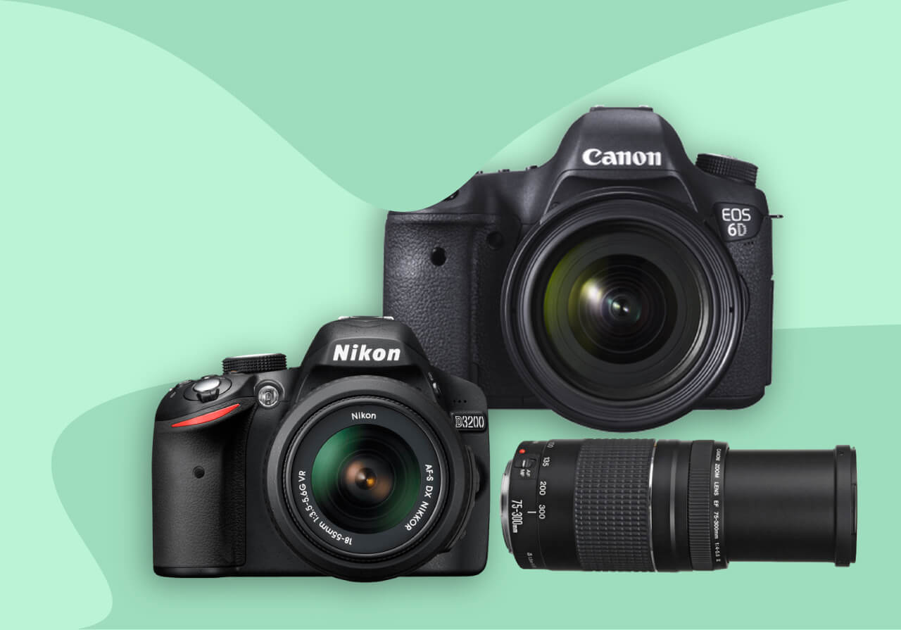 Buy DSLR Cameras On Easy Installments