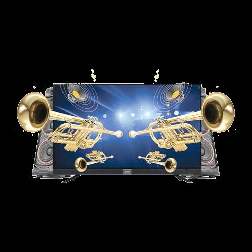 Buy Orient Trumpet 43S FHD Black On Installments